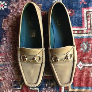Authentic Women's GUCCI Horsebit Loafers Size 7.5